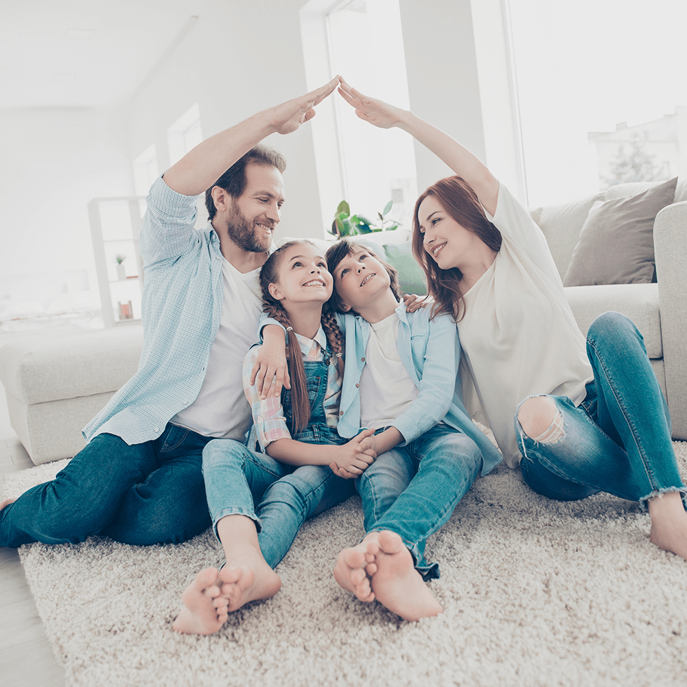 House and Lifestyle Insurance gives young family peace of mind.